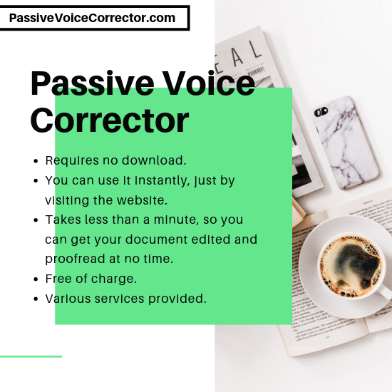Free Online Passive Voice Corrector | Check Now
