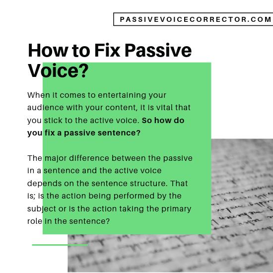 passive sentence checker online