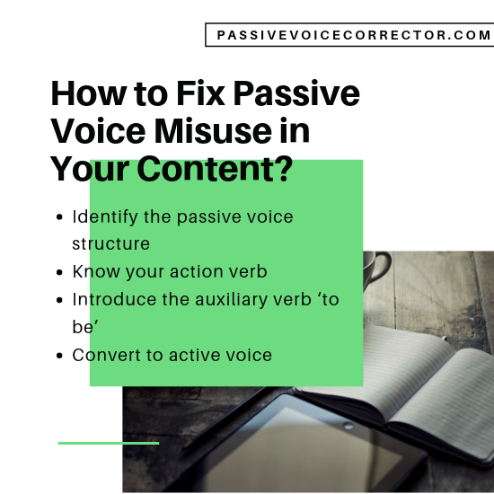 passive voice misuse checker for free